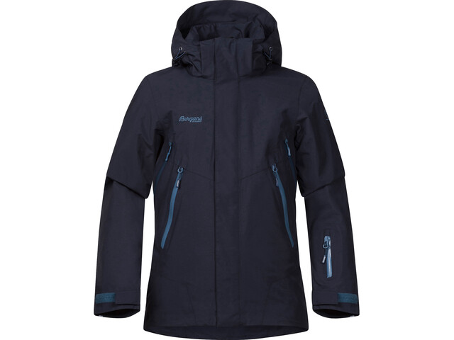 Bergans Boys Ervik Insulated Jacket Dark Navy Dark Steel Blue Steel Blue  dba245895